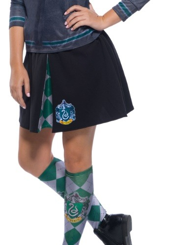 Click Here to buy Harry Potter Adult Slytherin Skirt from HalloweenCostumes, CDN Funds