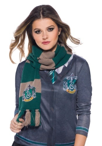 Slytherin Scarf Harry Potter1