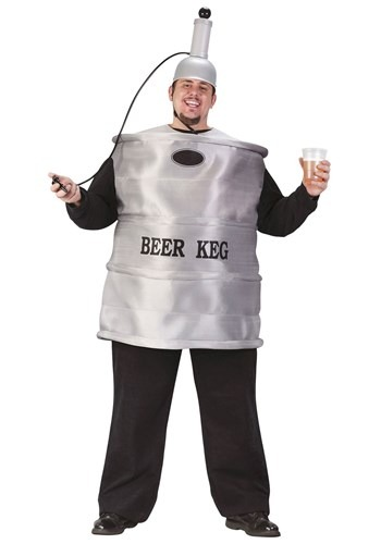 Plus Size Beer Keg Costume By: Fun World for the 2015 Costume season.