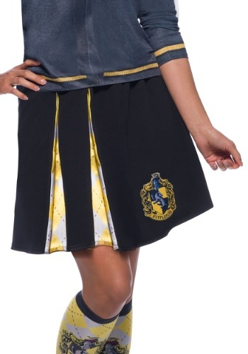 Click Here to buy Harry Potter Adult Hufflepuff Skirt from HalloweenCostumes, CDN Funds