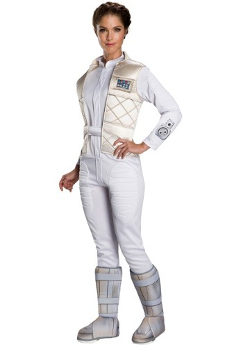 Image of Womens Hoth Leia Costume