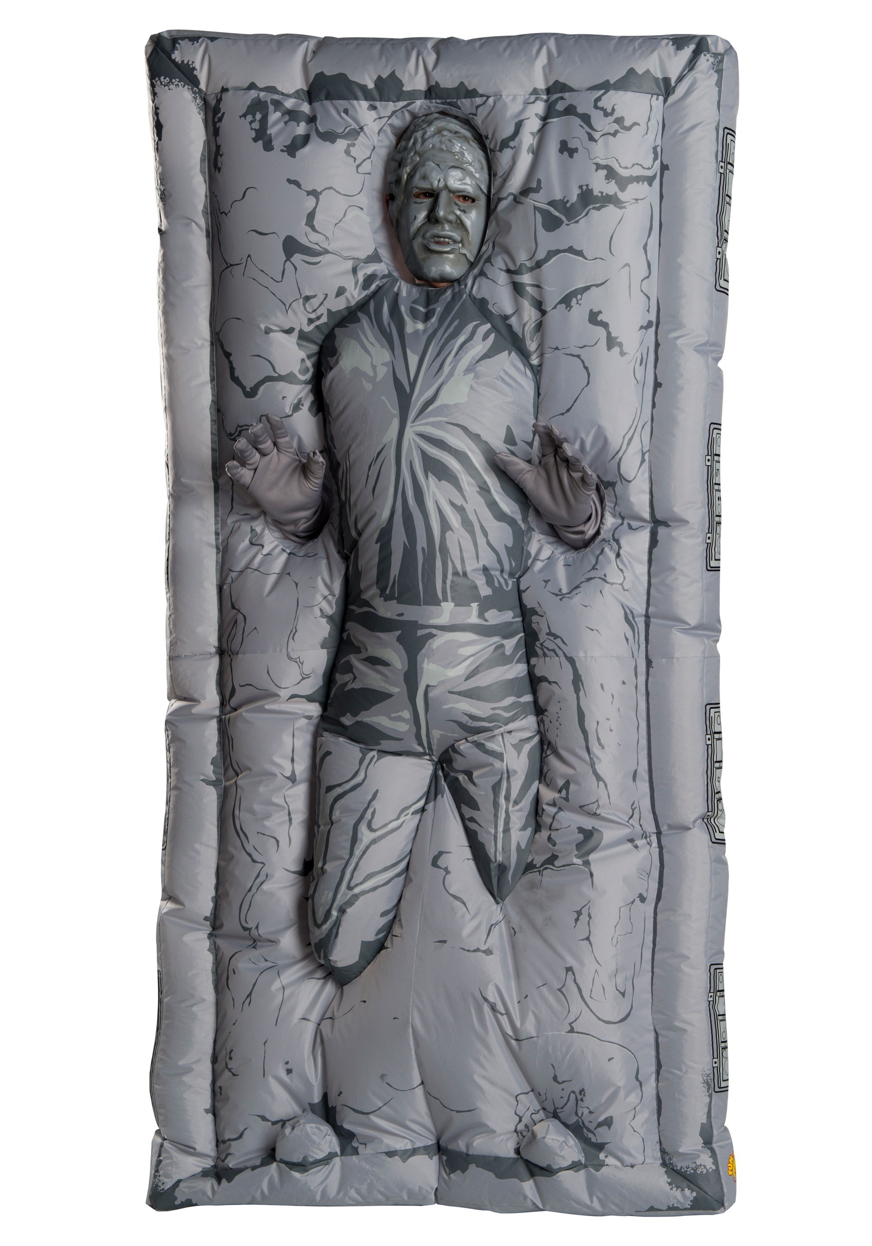 Adult Inflatable Han Solo Carbonite Costume-7875