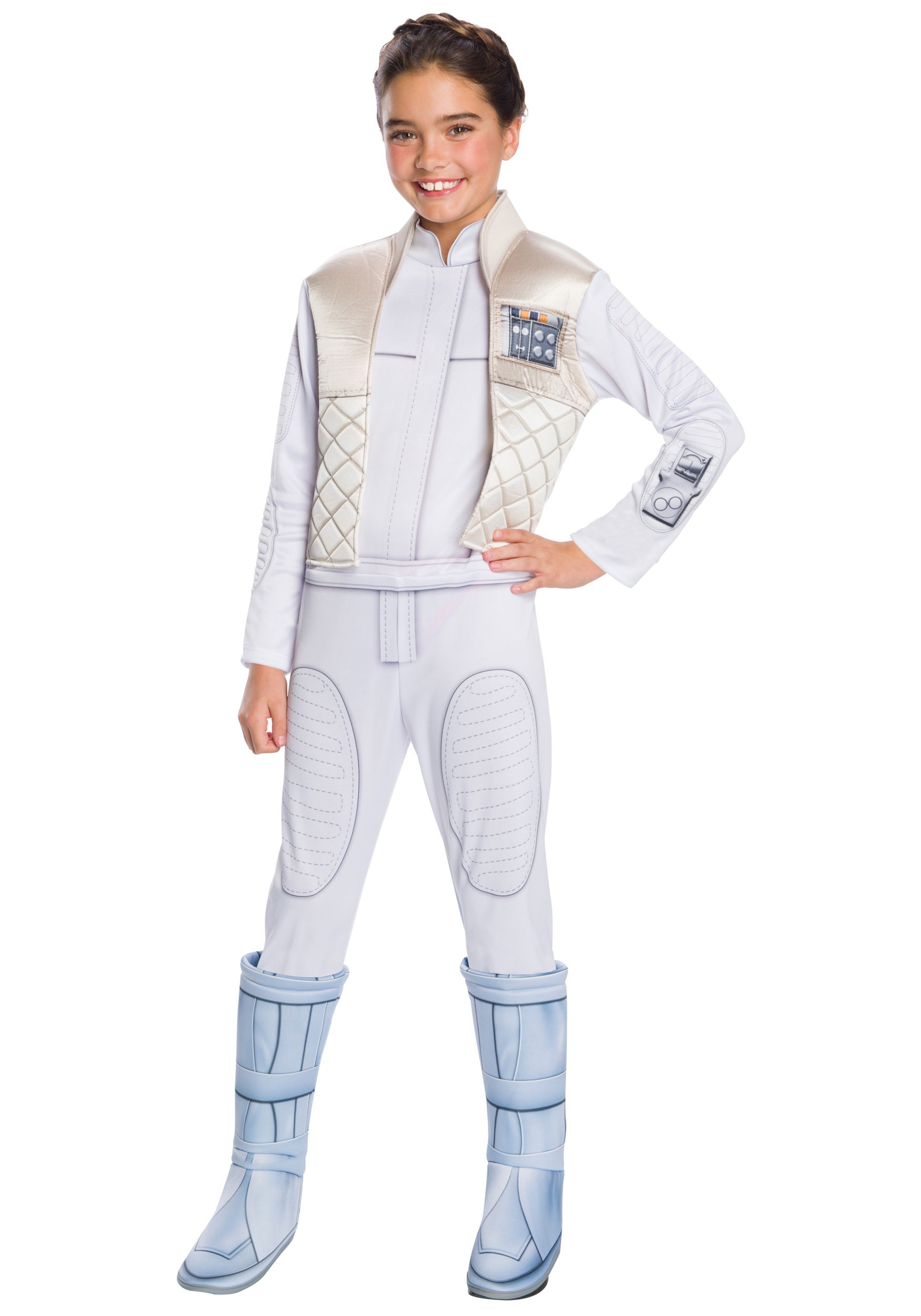 Star Wars Princess Leia Hoth Costume For Girls