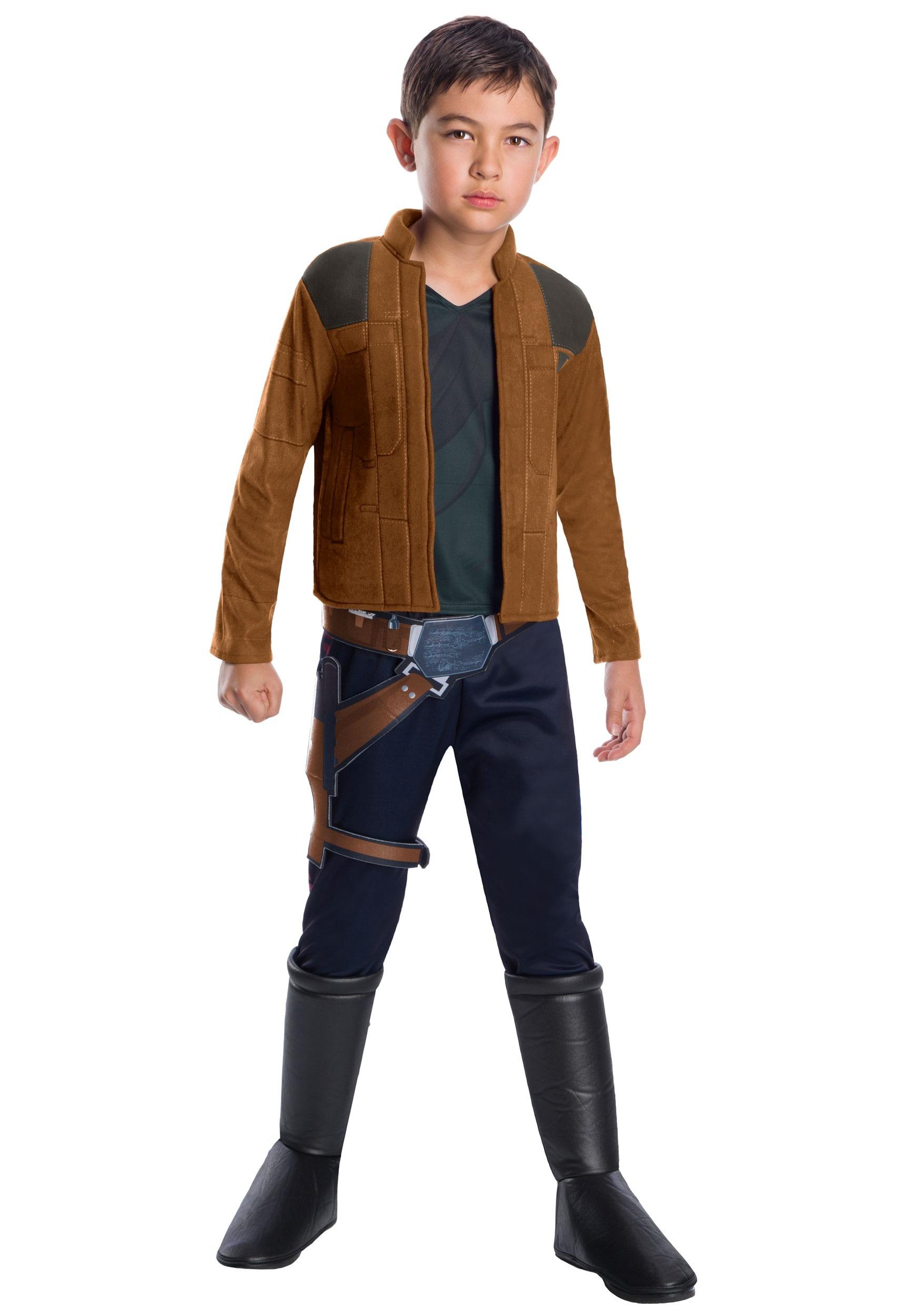 Brand New Star Wars Han Solo Child Costume
