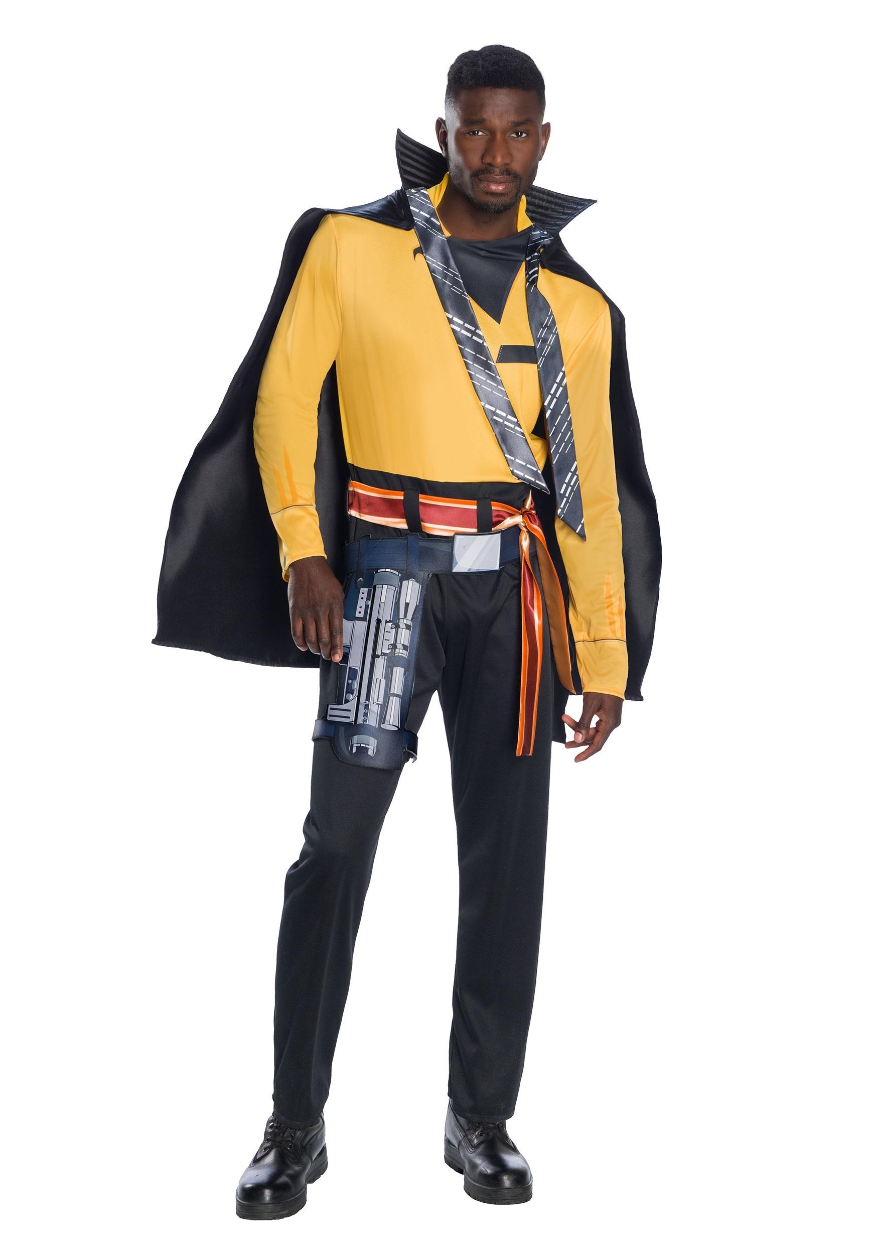 Adult Star Solo Wars Lando Costume Calrissian Story AL43jR5
