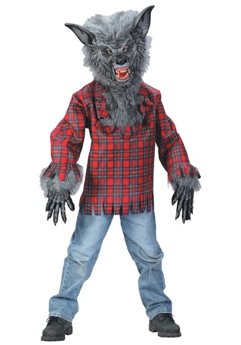 Click Here to buy Kids Werewolf Costume from HalloweenCostumes, USA Funds & Shipping