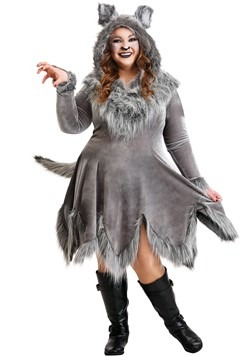 Costume Women's Wolf Plus Size