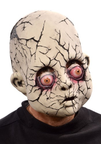 Image of Broken Baby Doll Mask for Adults