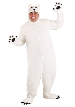 Plus Size Arctic Polar Bear Costume