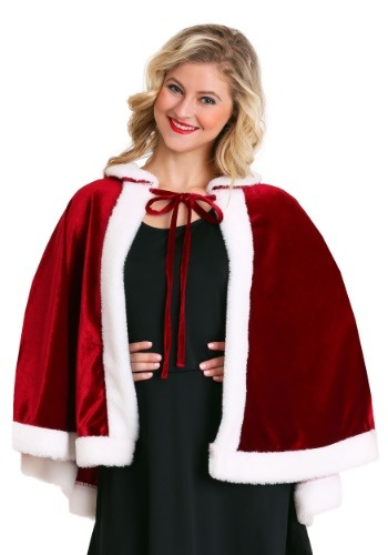 Click Here to buy Mrs. Claus Christmas Cloak from HalloweenCostumes, CDN Funds