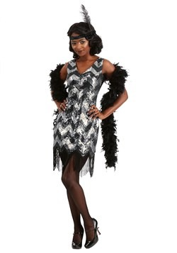 Women's Shimmer Flapper Costume