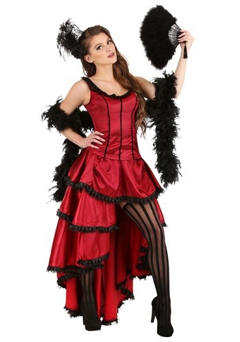 Women's Sultry Saloon Girl Costume