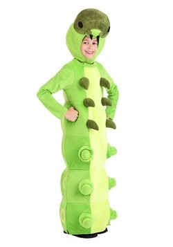 Child Green Caterpillar Costume