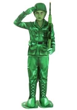 Kid's Plastic Army Man Costume