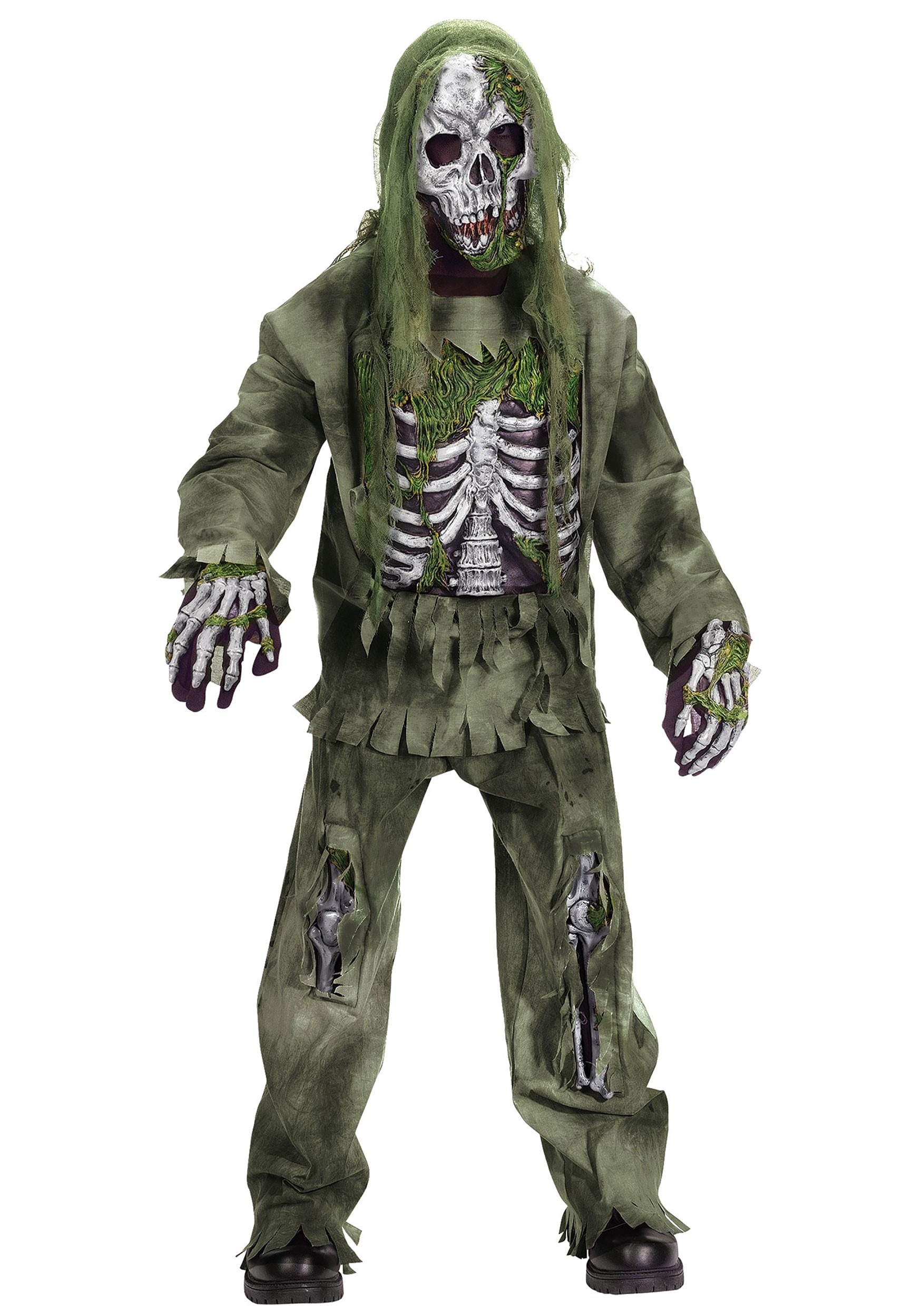 kids skeleton zombie costume - Skeleton Halloween Costume For Kids