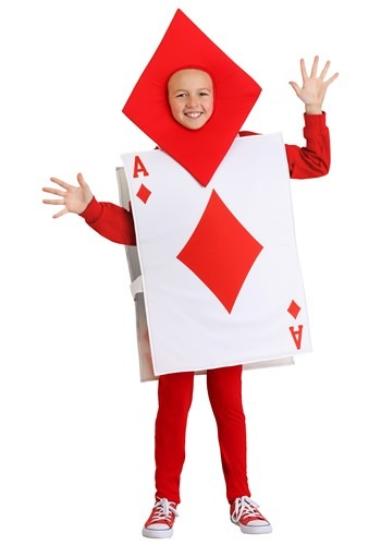 Kids Ace of Diamonds Costume