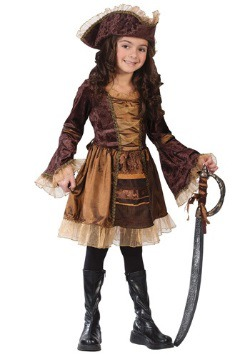 Child Sassy Victorian Pirate Costume