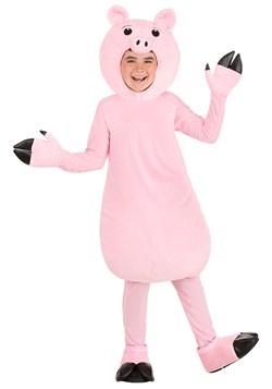 Kid's Pink Pig Costume
