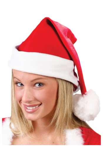 Fleece Santa Hat By: Fun World for the 2015 Costume season.