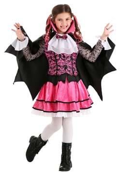 Girls Pink Vampire Costume