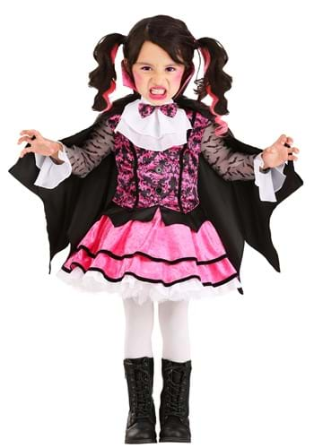 Toddler Pink Vampire Costume