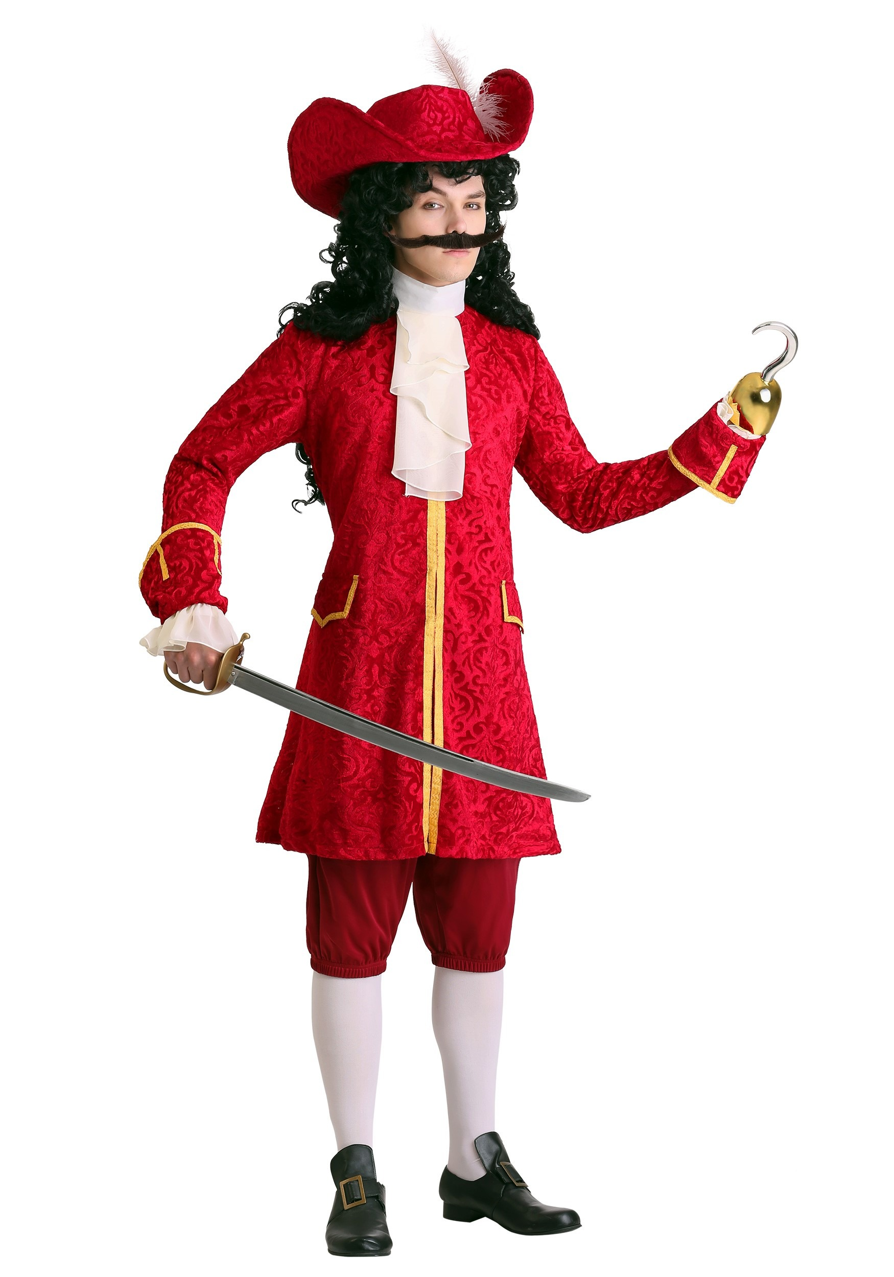 Men S Plus Size Privateer Pirate Costume