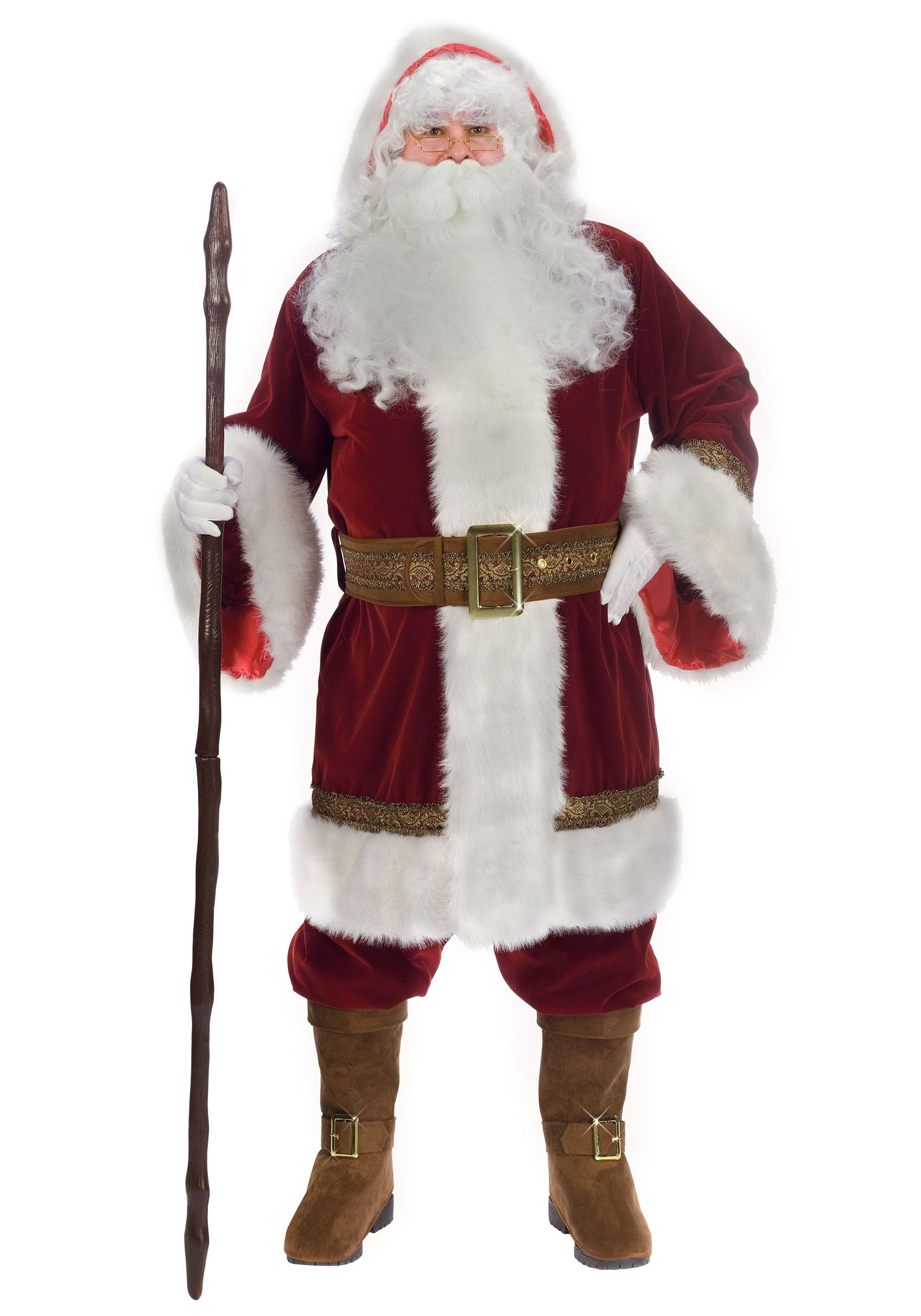 5395a941896a8 Plus Size Old Time Santa Costume