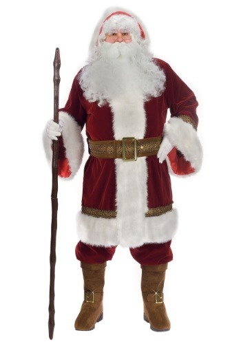 Click Here to buy Plus Size Old Time Santa Costume 1X from HalloweenCostumes, CDN Funds