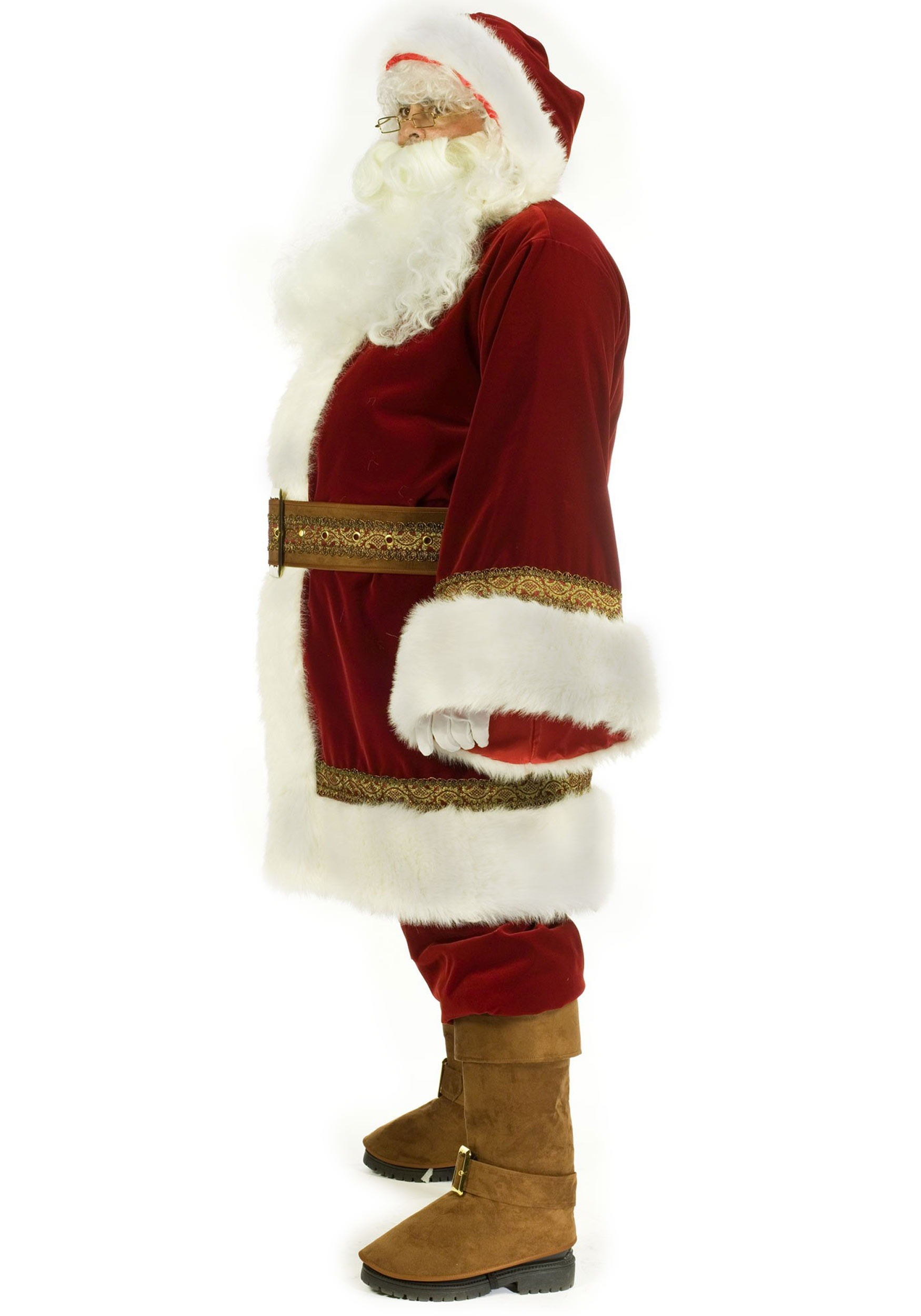 c2610c8c00a2 Plus Size Old Time Santa Costume Plus Size Old Time Santa Costume ...