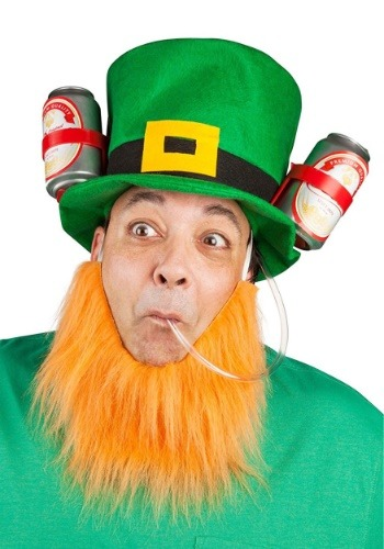 Click Here to buy St. Patricks Lucky Leprechaun Drinking Hat from HalloweenCostumes, CDN Funds