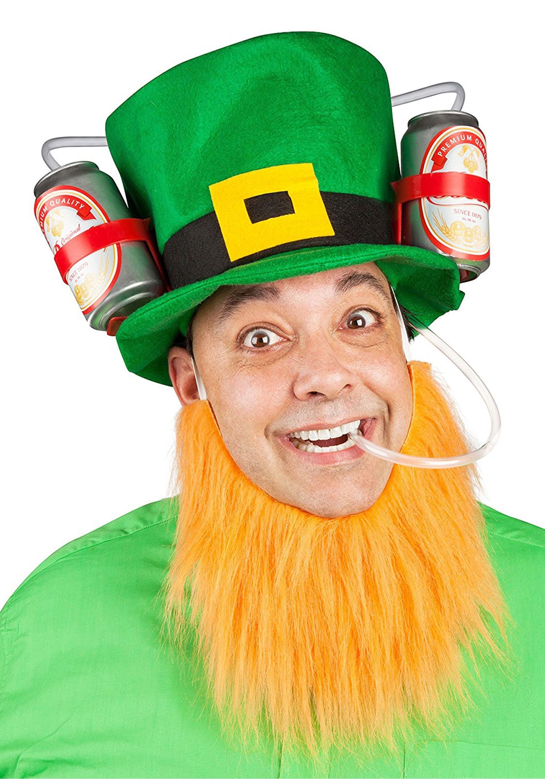 St. Patrick's Lucky Leprechaun Drinking Hat