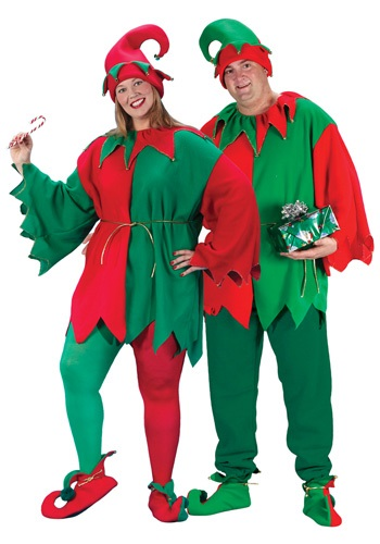 Click Here to buy Plus Size Elf Costume from HalloweenCostumes, USA Funds & Shipping