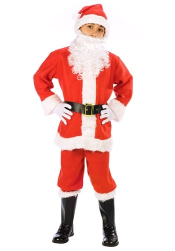 Child Santa Suit Costume Update