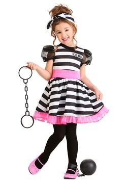 Prisoner Costume Toddler Glam
