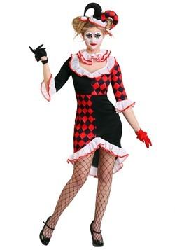 Harlequin Costume Women's Haute