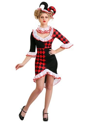 Haute Harlequin Womens Costume
