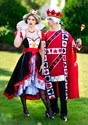 Men's Plus Size King of Hearts Costume 3