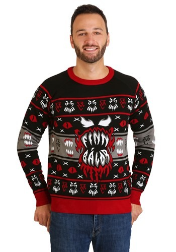 WWE Finn Bálor Ugly Christmas Sweater