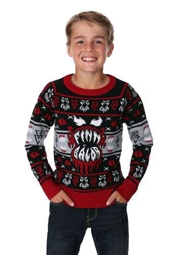 WWE Kids Finn Bálor Ugly Christmas Sweater