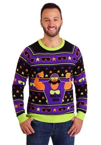 WWE Macho Man Ugly Christmas Sweater