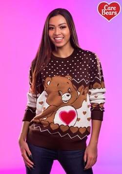 Tenderheart Bear Care Bears Ugly Christmas Sweater Update