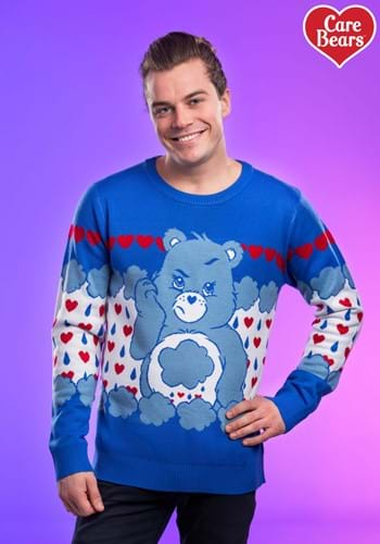Grumpy Bear Adult Care Bears Ugly Christmas Sweater Update