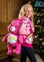 Care Bears Cheer Bear Kids Zip Up Knit Sweater alt2