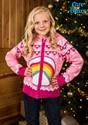Care Bears Cheer Bear Kids Zip Up Knit Sweater alt1