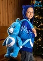 Child Care Bears Grumpy Bear Zip Up Knit Sweater alt4