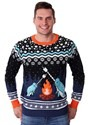 Adult's Narwhal Ugly Christmas Sweater Alt 3