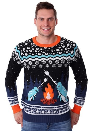 Adults Narwhal Ugly Christmas Sweater