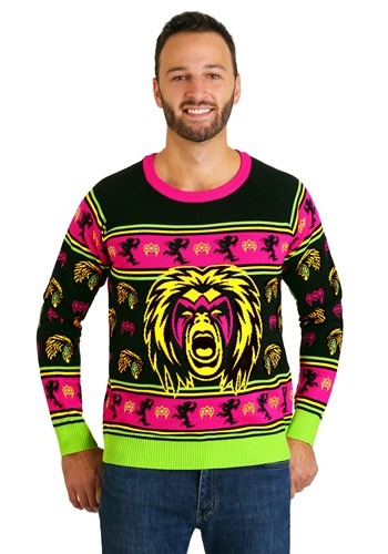 WWE Ultimate Warrior Ugly Christmas Sweater