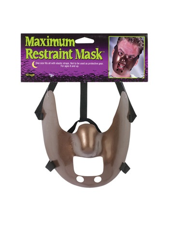 Maximum Restraint Mask By: Fun World for the 2015 Costume season.