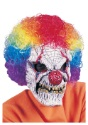 Adult Clown Mask with Wig - $13.99